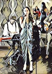 Three Card Trick, Dani Sicari & The Easy Rollers
